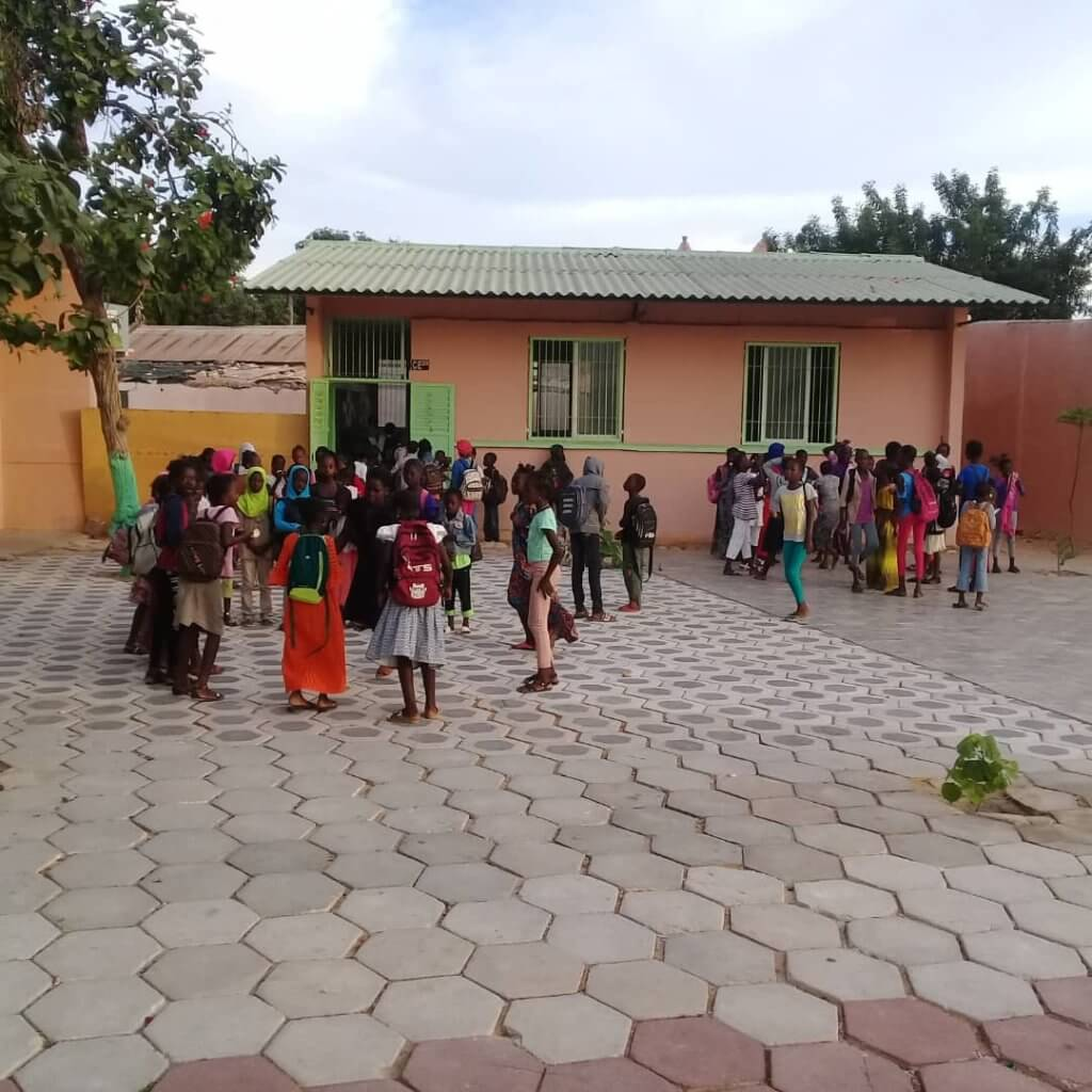 Philia Foundation, School project A to Z project - Keur Mame El Hadj District Thies, Senegal